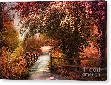 In A Park Canvas Print by Svetlana Sewell