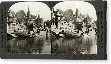 India Ganges, C1920 Canvas Print