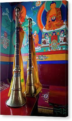 India, Jammu & Kashmir, Ladakh, Two Canvas Print