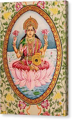 India, Rajasthan, Bikaner, Karni Mata Canvas Print by Alida Latham