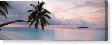 Indian Ocean Maldives Canvas Print