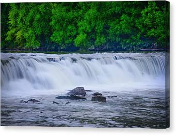 Indianhead Dam Canvas Print by Bill Cannon