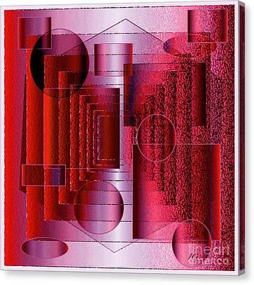 Infinity Canvas Print by Iris Gelbart