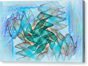 Infrasonic Canvas Print by Tracy Mewmaw