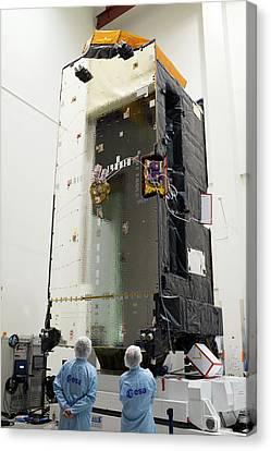 Inmarsat Satellite Testing Canvas Print by Esa - S. Corvaja