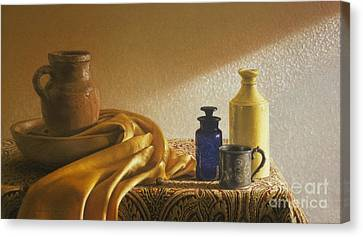 Inspired By Vermeer Canvas Print