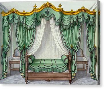 Interior Showing Furniture Canvas Print