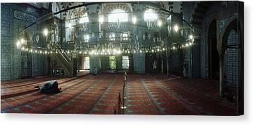 Interiors Of A Mosque, Rustem Pasha Canvas Print