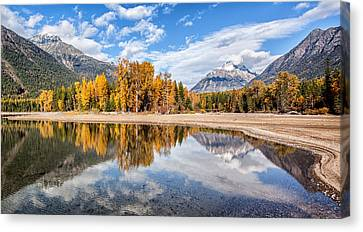 Canvas Print featuring the photograph Into The Wild by Aaron Aldrich