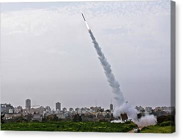 Iron Dome Canvas Print by Photostock-israel