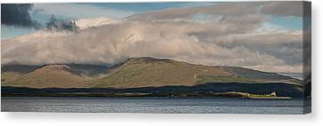 Canvas Print featuring the photograph Isle Of Mull by Sergey Simanovsky