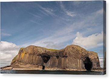 Isle Of Staffa Canvas Print by Sergey Simanovsky
