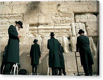 Israel, Jerusalem Canvas Print