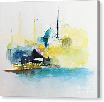 Istanbul Canvas Print by Gianni Raineri