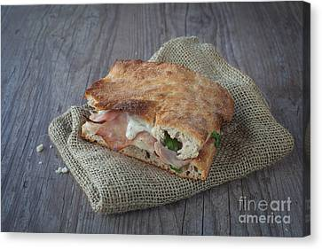 Italian Sandwich Canvas Print by Sabino Parente