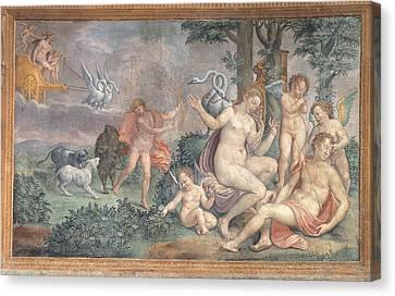 Italy, Lazio, Rome, Monterotondo Canvas Print by Everett