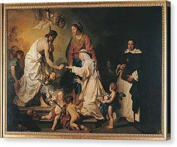 Italy, Lazio, Rome, Private Collection Canvas Print by Everett