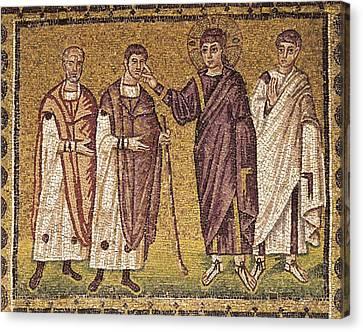 Italy. Ravenna. Basilica Canvas Print by Everett