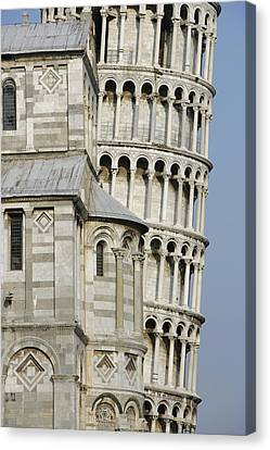 Openair Canvas Print - Italy, Tuscany, Pisa, Leaning Tower � by Tips Images