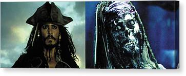 Canvas Print - Jack Sparrow by Jack Hood