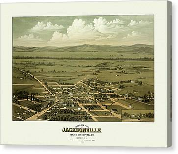 Jacksonville Oregon Canvas Print by Gary Grayson