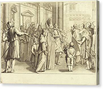 Jacques Callot French, 1592 - 1635, Grand Duchess Canvas Print by Quint Lox