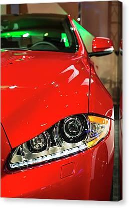 Jaguar Xjr Canvas Print by Jim West