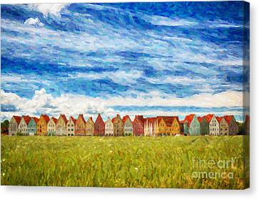 Jakriborg Digital Painting Canvas Print by Antony McAulay