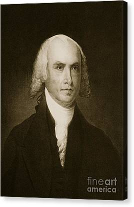 James Madison Canvas Print - James Madison by American School