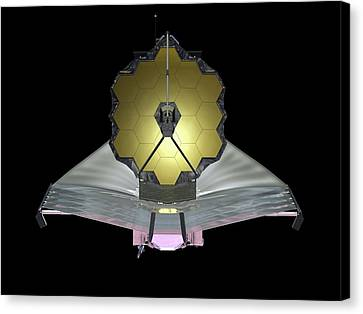 James Webb Space Telescope Canvas Print