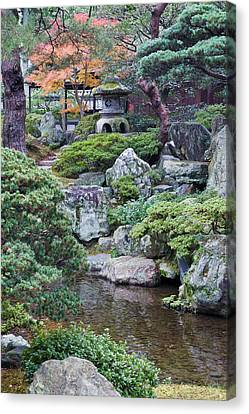 Japan, Kyoto, Kyoto Imperial Palace Canvas Print by Rob Tilley
