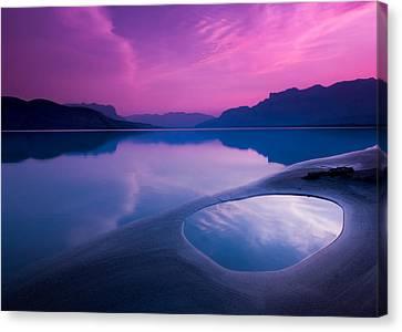 Jasper Lake Sunrise Canvas Print by Cale Best