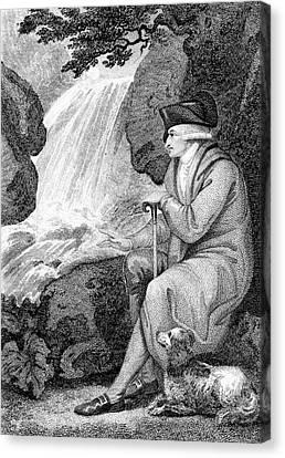 Jean-jacques Rousseau Canvas Print by Universal History Archive/uig
