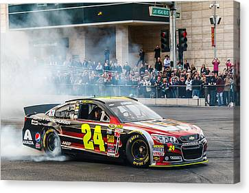 Jeff Gordon Canvas Print by James Marvin Phelps