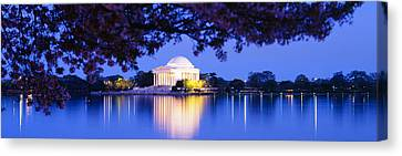 Jefferson Memorial, Washington Dc Canvas Print by Panoramic Images