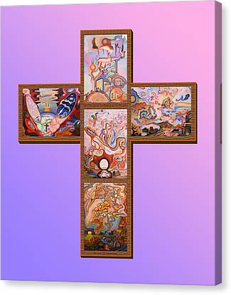 Jesus Of Advent L P M Canvas Print by Aswell Rowe