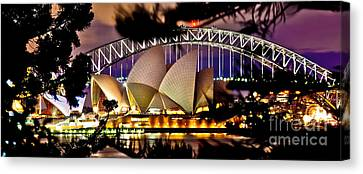 Jewel Of The Harbour Canvas Print by Az Jackson