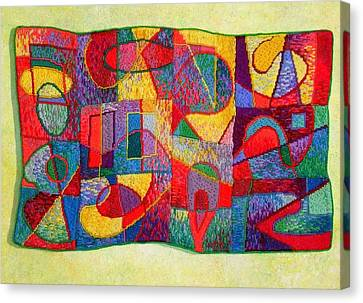 Jigsaw Tapestry Canvas Print