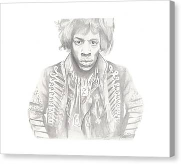 Canvas Print - Jimi Hendrix by Don Medina