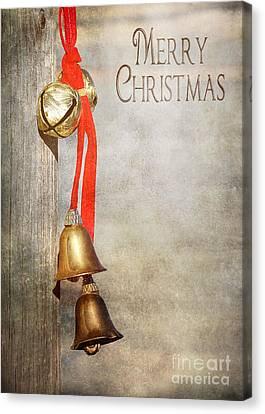 Jingle Bells Canvas Print by Cindy Singleton