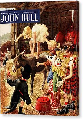 John Bull 1950s Uk Dressing Up Fancy Canvas Print by The Advertising Archives