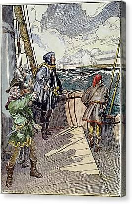 John Cabot (c1450-c1499) Canvas Print by Granger