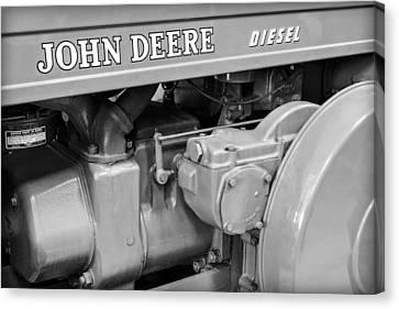 John Deere Diesel Canvas Print