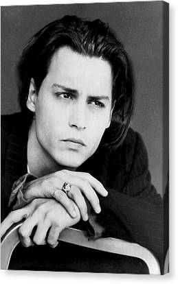 Johnny Depp Canvas Print by Karon Melillo DeVega