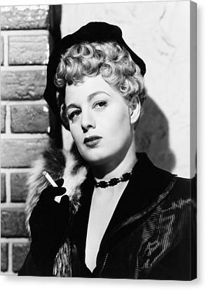 Johnny Stool Pigeon, Shelley Winters Canvas Print