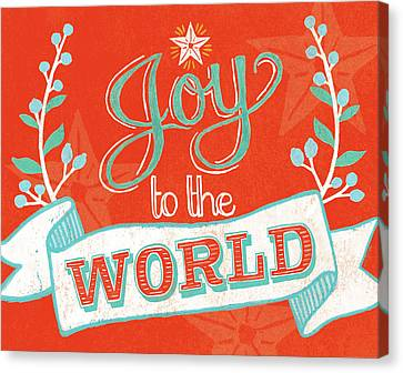 Joy To The World Canvas Print by Mary Urban