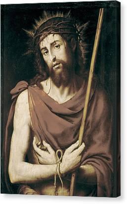 Juanes, Juan De 1523-1579. Ecce Homo Canvas Print