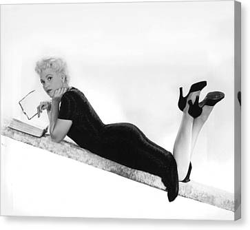 Judy Holliday In Born Yesterday  Canvas Print by Silver Screen