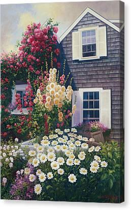Julia's Garden Canvas Print