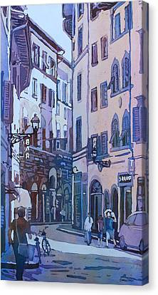 July In Florence Canvas Print by Jenny Armitage